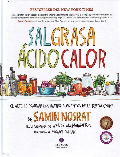 Sal grasa acido calor